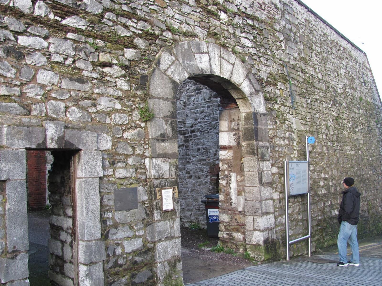 Cory at Elizabeth Fort Cork, Ireland