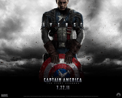 Captain America Movie on Captain America The First Avenger Movie Wallpapers 2011