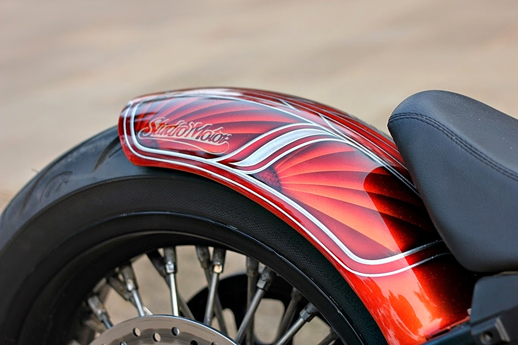 Modifikasi Motor Harley Davidson Softail Fatboy Lo Terbaru 2014