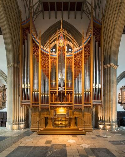 Dobson Pipe Organs Ltd Opus 91, 2013 - Merton College Chapel
