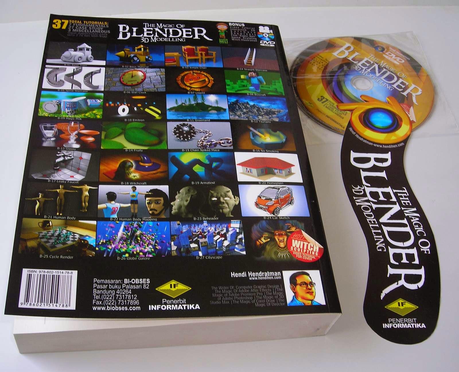 Blender Character Modeling Tutorial Pdf : Buku blender d terlengkap tutorial bahasa indonesia