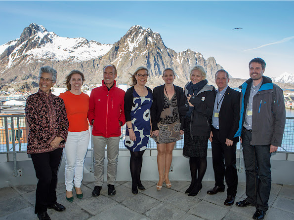 Crown Princess with Nordic and international WWF leaders