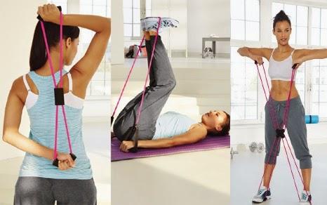 fitness juego de extensores baja media alta intensidad extensor multifuncional cinta extensora Lidl