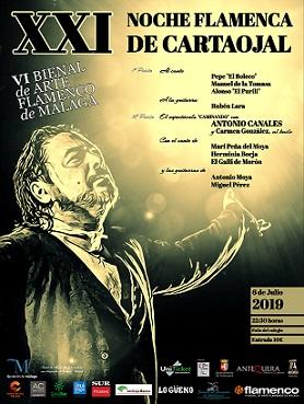 Cartel XIX Noche Flamenca