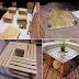 Mesa de centro feita com caixotes - Passo a Passo