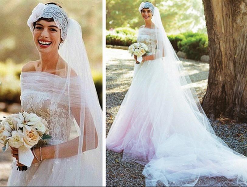 el ajuar de la novia: vestidos de novias de las famosas de hollywood