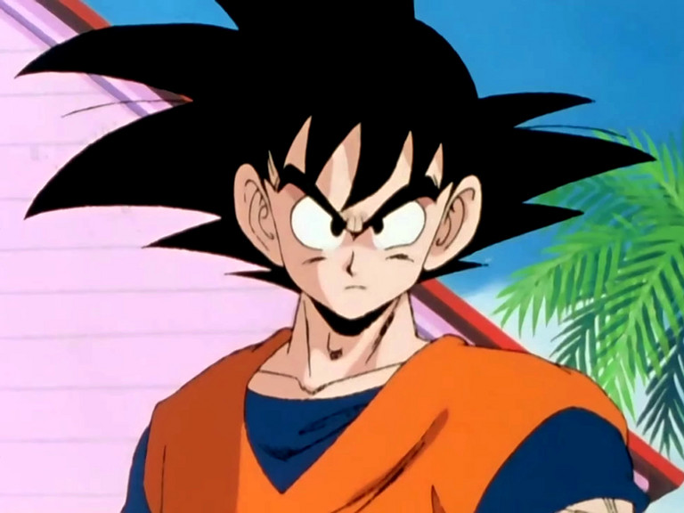 Top five top five most popular male anime characters - Son goku dragon ball z ...