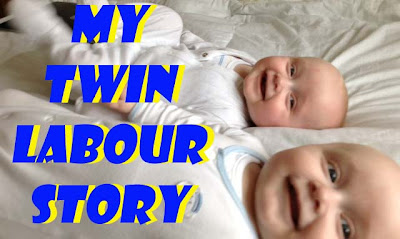 twin labour labor story