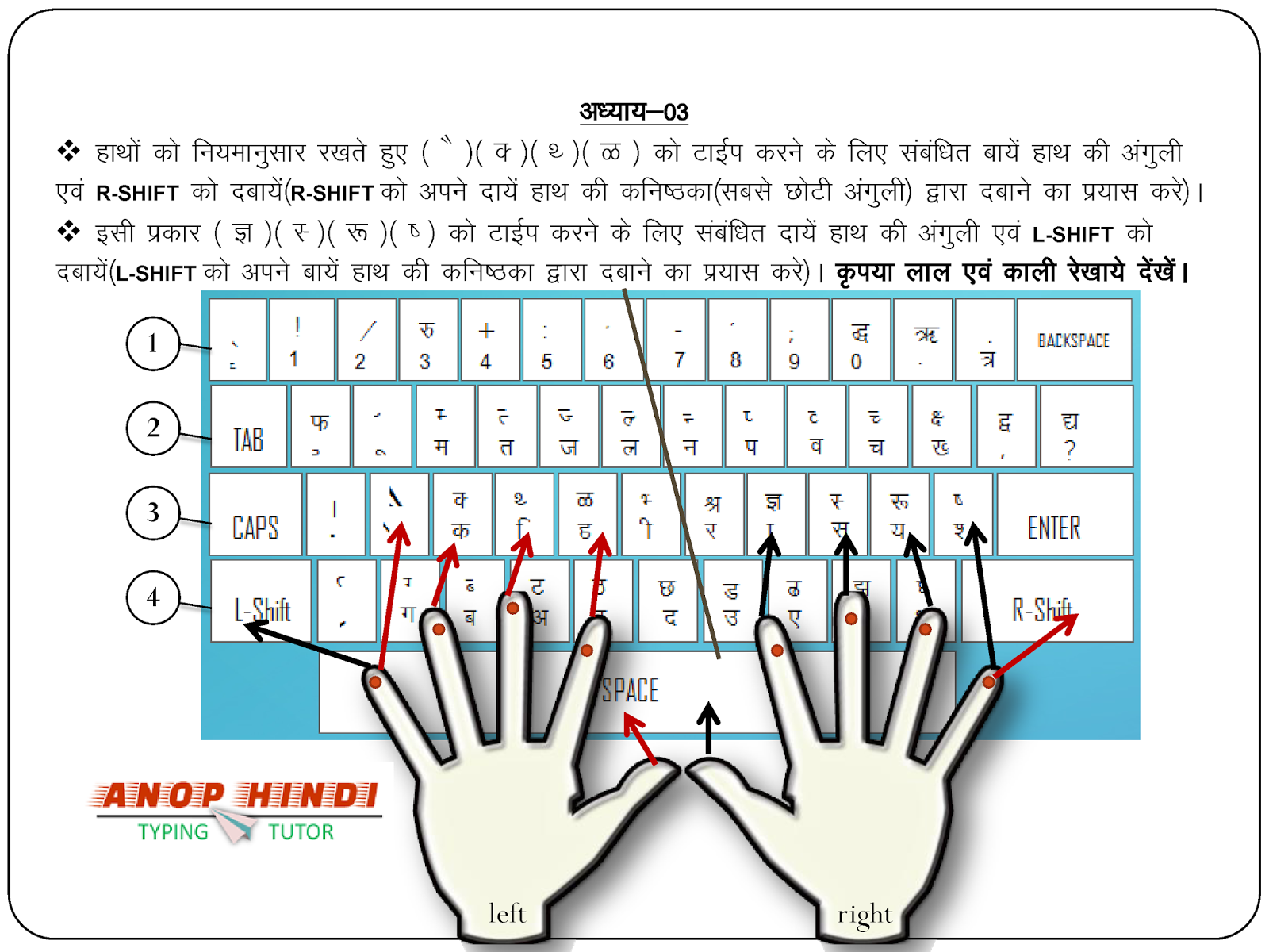 typing a letter online