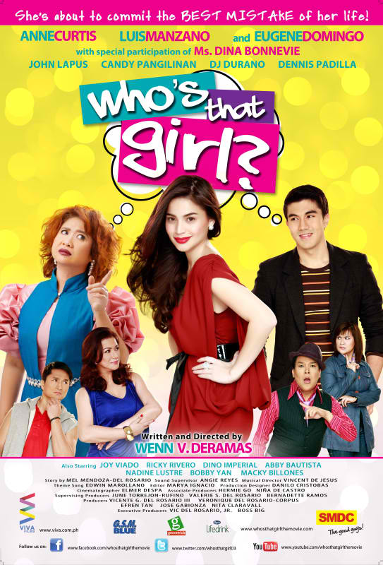 Who's That Girl movie