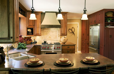 warm kitchen scheme in natural color by sweat peas design