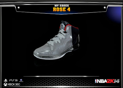 NBA 2K14 adidas D. Rose 4 Shoes
