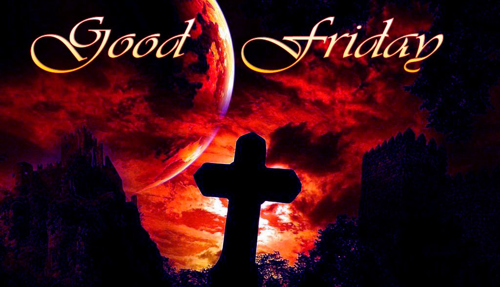 good friday images with dark cross