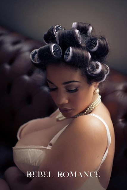 Olivia Campbell Plus Size Model UK