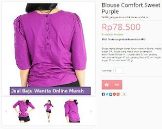 Jual Baju Wanita Online Murah dan Lengkap
