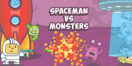 Spaceman vs. Mons…