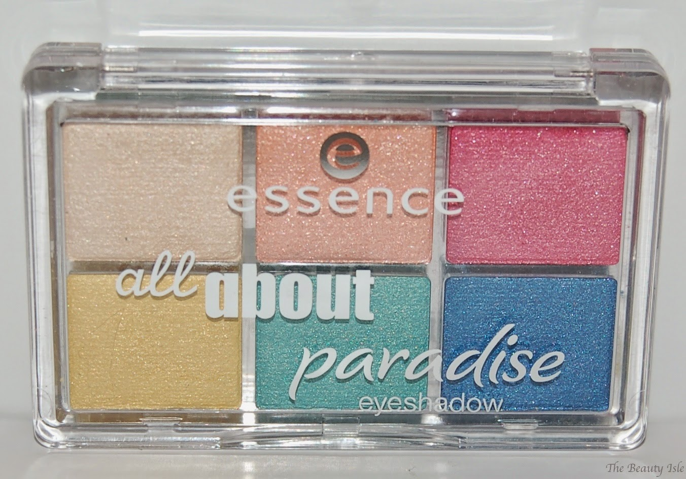 essence cosmetics all about paradise eye shadow palette