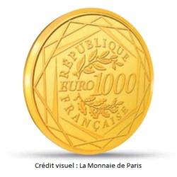 pièce de 1000 euros en or