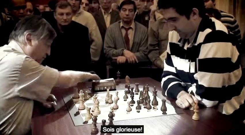 Les champions d'échecs Karpov et Kramnik apparaissent dans la vidéo russe - Photo © Chess & Strategy