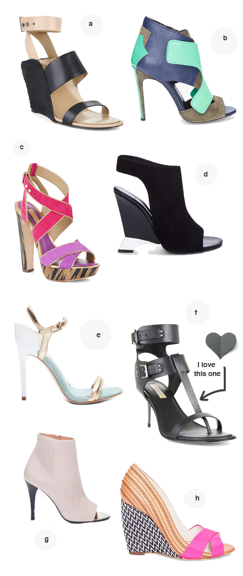 8 unique shoe styles made by