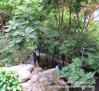 Big apple secrets teardrop park in battery park city for 22 river terrace battery park
