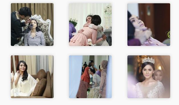 5 Gambar  Resepsi Perkahwinan Siti Elizad - Shamsul Baharin