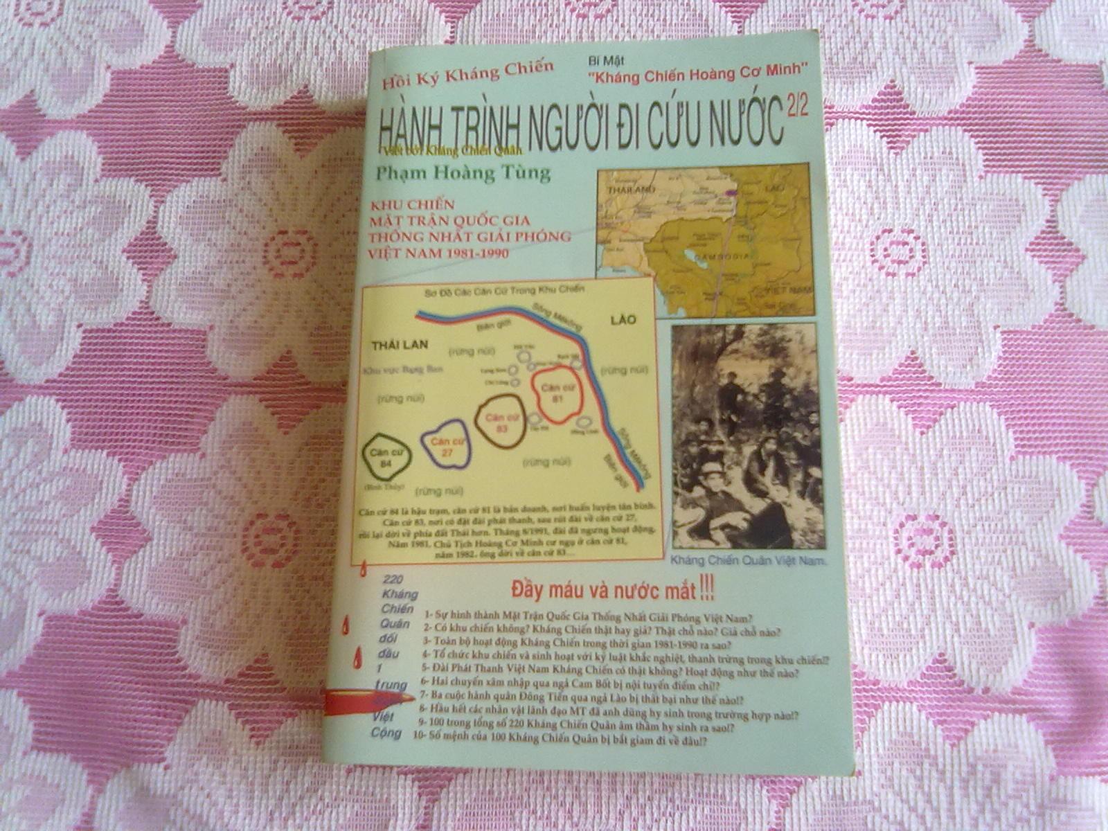 Hình Bìa Trước Quyển 2 & Hồi Ký Hành Trình NgườI Đi Cứu Nước
