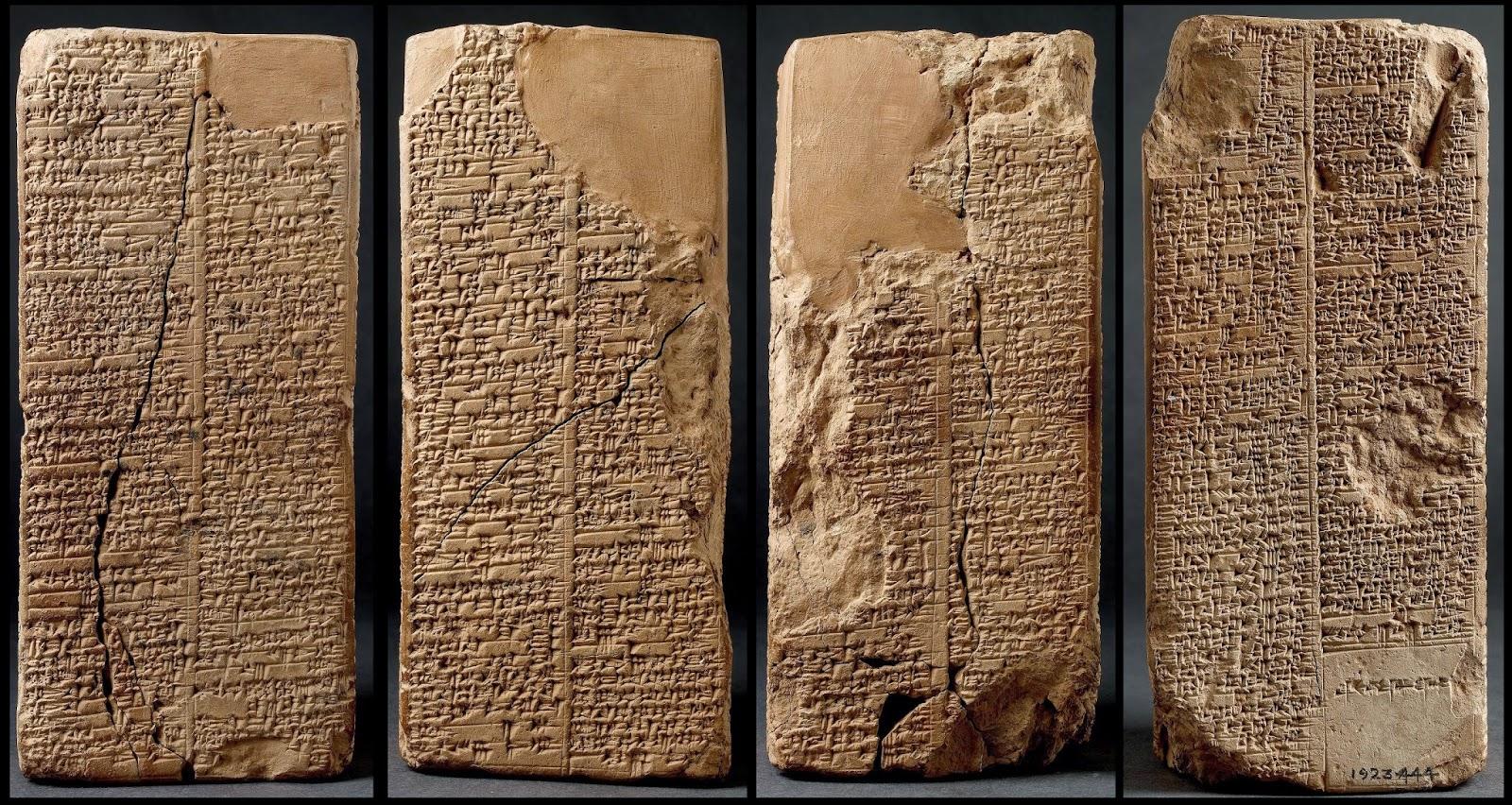 lista de reis sumeria - artefatos inexplicaveis