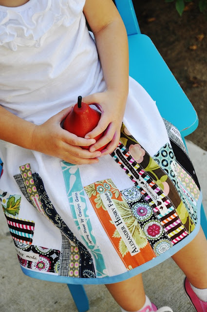 bookworm skirt sewing tutorial