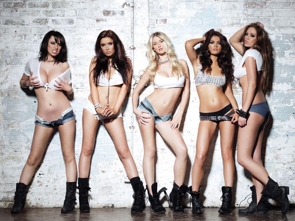 Various Babes Nuts Girls Shoot