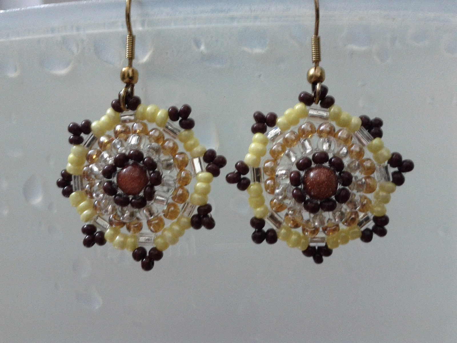 star brick tutorial by earrings jewellery pattern stitch and how make main craftaholique to making