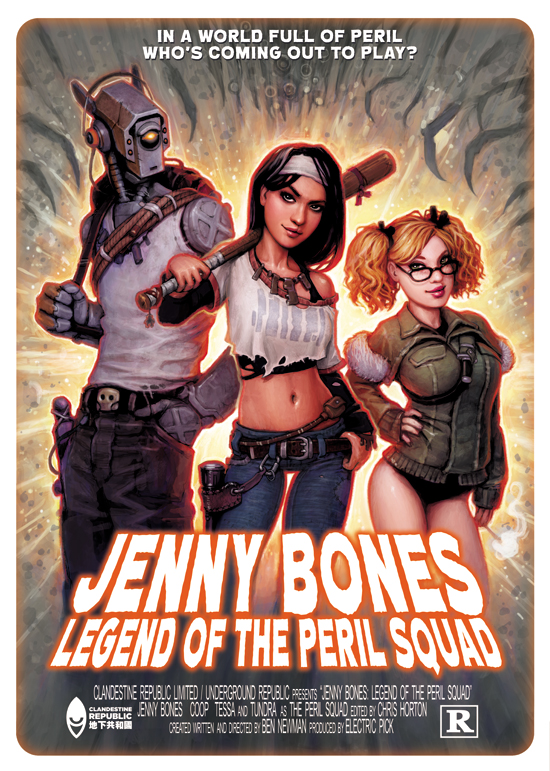 Jenny Bones available.....NOW!