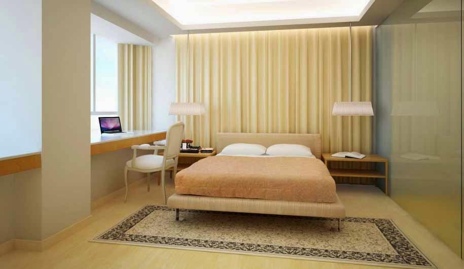 Desain Kamar Tidur Utama Modern 2015