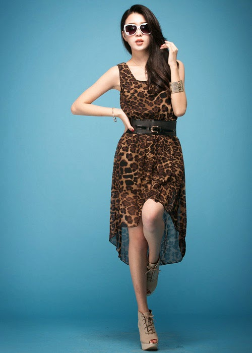 http://www.koees.com/koees-3720-Sexy-leopard-chiffon-dress-with-belt.html