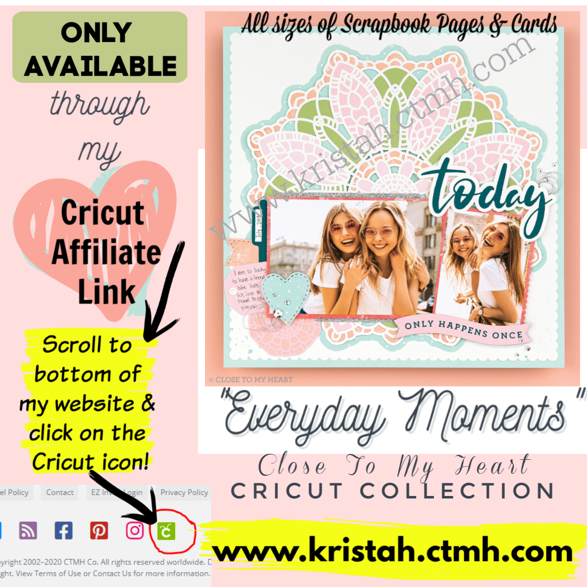March 1st CTMH released our NEWEST Cricut Collection!