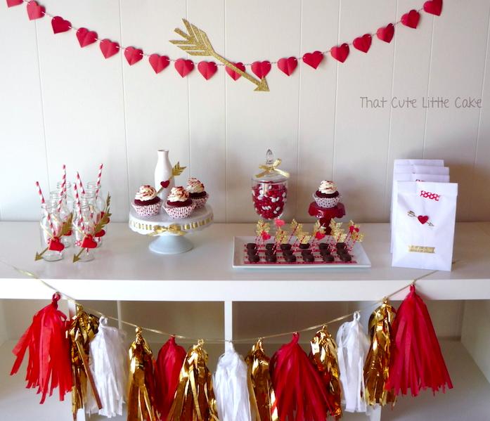 Inspiracion para decorar la mesa de san valentin - Decorar para san valentin ...