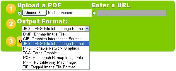 PDF to Image Converter Online