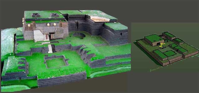complejo arqueológico de chavin de huantar
