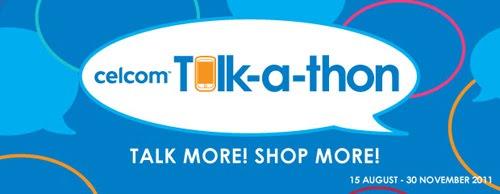 celcom talkathon banner