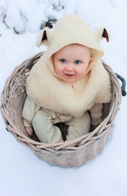 christmas photo baby