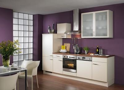 cocina moderna berenjena