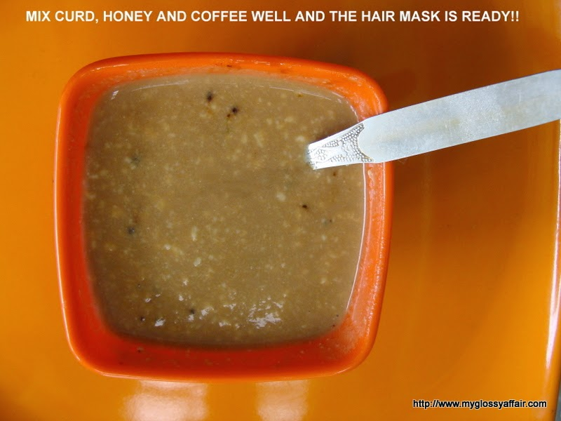 Get Shiny Hair Mask