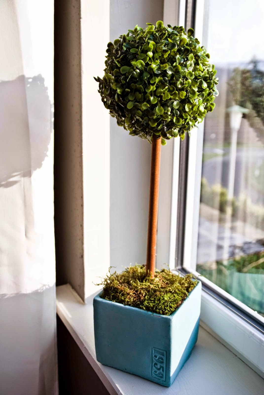DIY Topiary, shared by Pudel Design