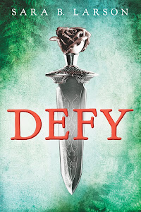 "Booklist says DEFY has ""...Grand adventure, romance, and thrilling political intrigue."""