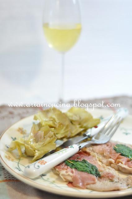 Blog di cucina di Aria: Saltimbocca alla romana