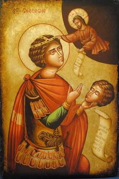 In sambata insemnata cu data de 23 a lunii aprilie, praznuirea Sfantului Mare Mucenic Gheorghe
