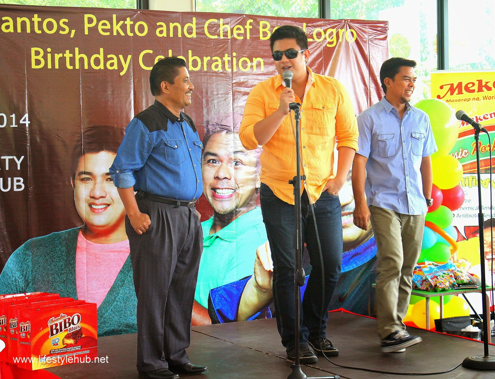 birthday celebration chef boy logro, kevin santos pekto