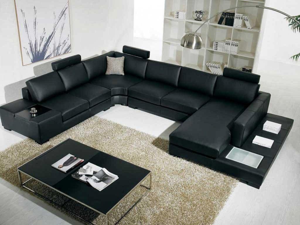 Marvelous Microfiber Sectional Sofa