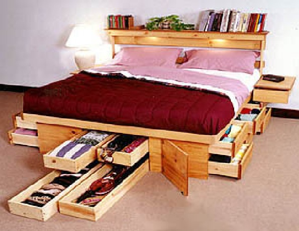 Maximize your bedroom space to save space saving simple home design - Saving space bedroom ...