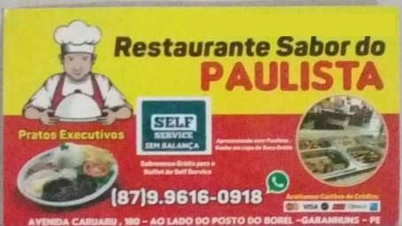 RESTAURANTE SABOR DO PAULISTA